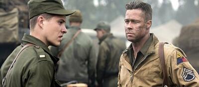 Brad Pitt ist Sergeant Wardaddy