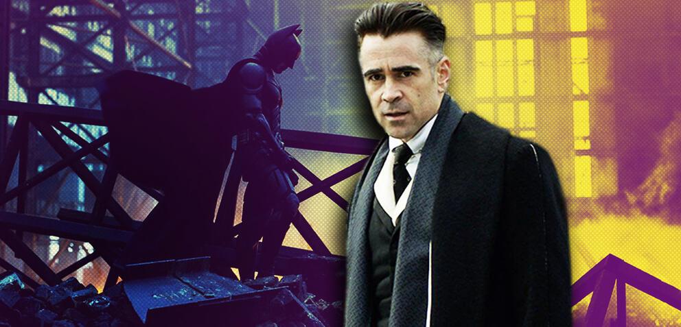 Batman und Colin Farrell