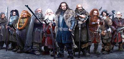 John Callen als Oin inDer Hobbit: Eine unerwartete Reise