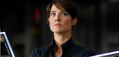 Cobie Smulders inMarvel's The Avengers