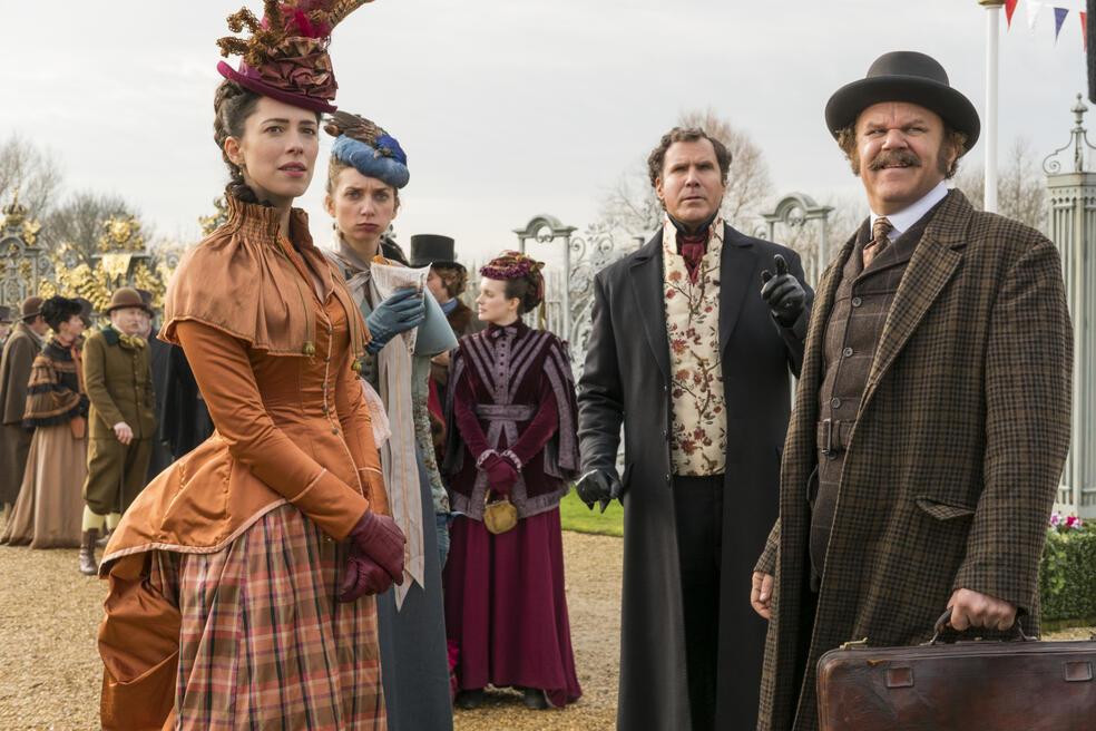 Holmes und Watson mit Will Ferrell, John C. Reilly, Rebecca Hall und Lauren Lapkus