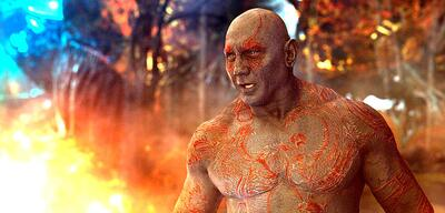 Dave Bautista als Drax der Zerstörer
