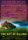 The act of killing poster 2