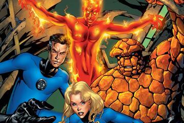 Die Fantastic Four im Comic