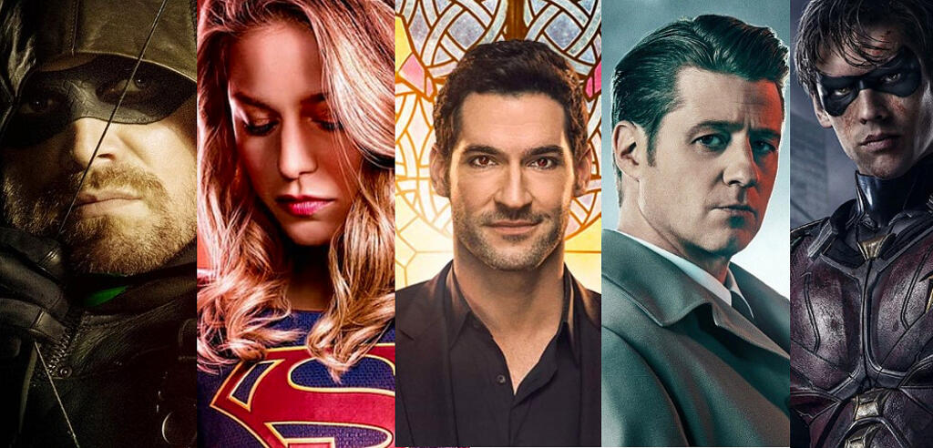 Arrow, Supergirl, Lucifer, Gotham, Titans