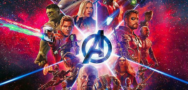 Avengers: Infinity War (IMAX-Poster)