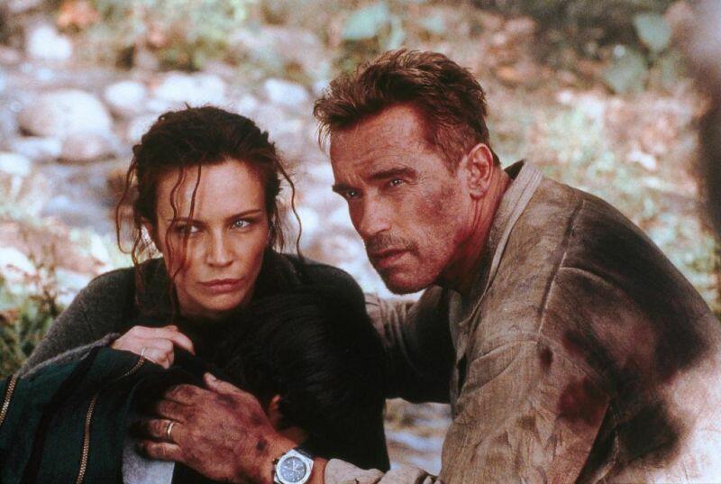 Collateral Damage mit Arnold Schwarzenegger und Francesca Neri