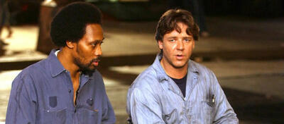 RZA (l) uund Russell Crowe (r) in American Gangster