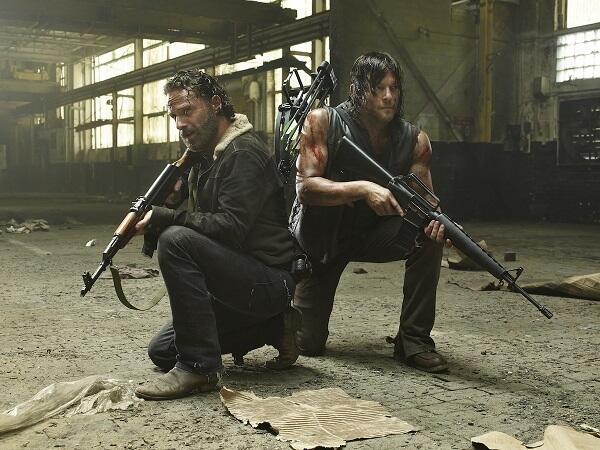 The Walking Dead kehrt bald zurück. Hier gibt's neue Bilder aus der 5. Staffel. - Bild 2 von 4