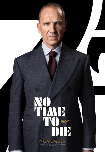 James Bond 007 - Keine Zeit zu sterben mit Ralph Fiennes