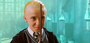 Tom Felton als Draco Malfoy in Harry Potter und die Kammer des Schreckens
