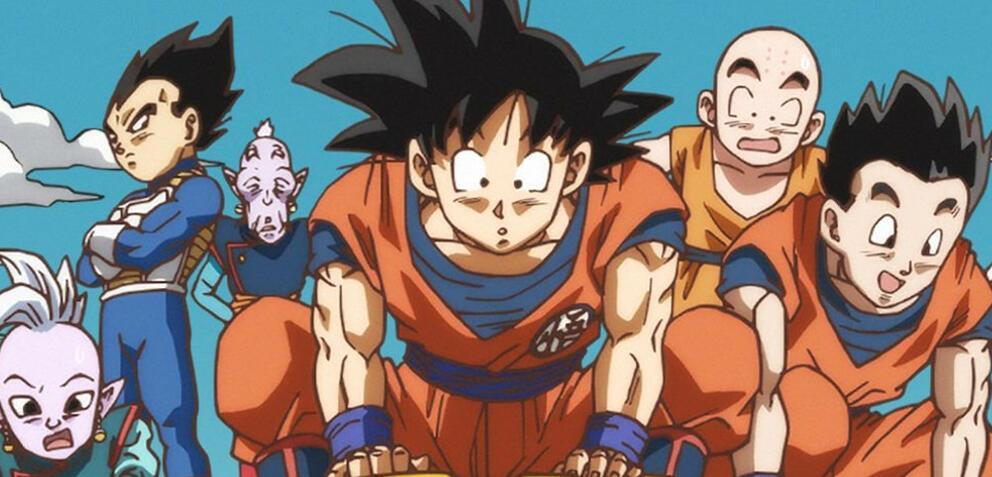 Zeichnung vom offiziellen Dragon Ball Super-Twitter-Account