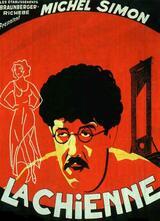 Die Hündin - Poster