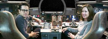 Star Wars 9-Regisseur J.J. Abrams und Produzentin Kathleen Kennedy