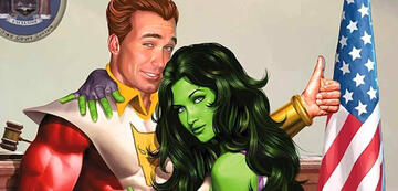 Starfox und She-Hulk