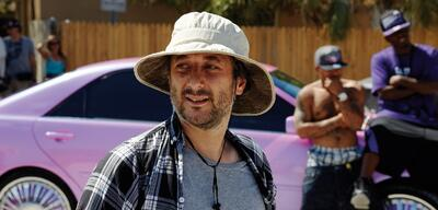 Harmony Korine am Set von Spring Breakers