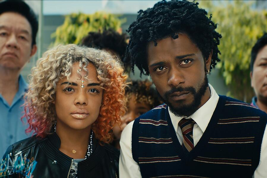 Sorry to Bother You mit Tessa Thompson und Lakeith Stanfield
