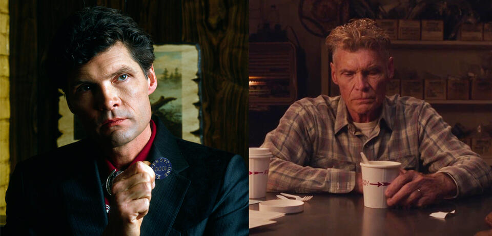 Everett McGill in Twin Peaks 1990 und 2017