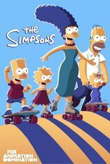 Die Simpsons - Staffel 33 - Poster