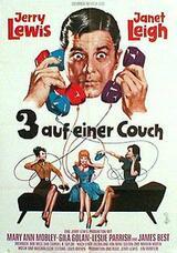 Drei auf einer Couch - Poster