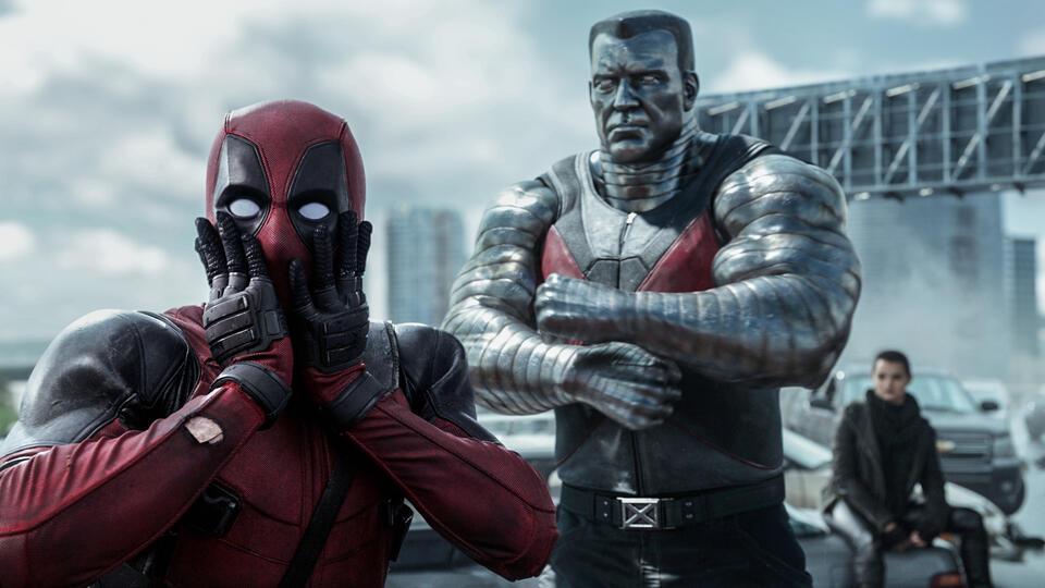 Deadpool mit Ryan Reynolds und Stefan Kapičić