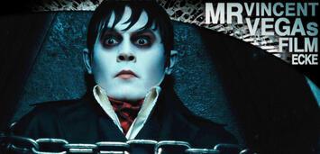 Bild zu:  In Ketten gelegt, trotzdem zappelnd: Johnny Depp als Barnabas Collins