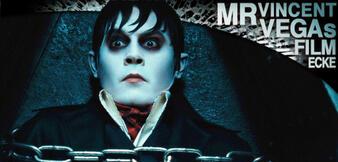 In Ketten gelegt, trotzdem zappelnd: Johnny Depp als Barnabas Collins