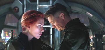 Black Widow und Hawkeye in Avengers 4: Endgame