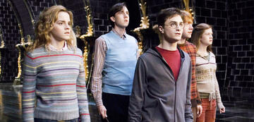 Harry Potter mit Neville und Co. im Zaubereiministerium