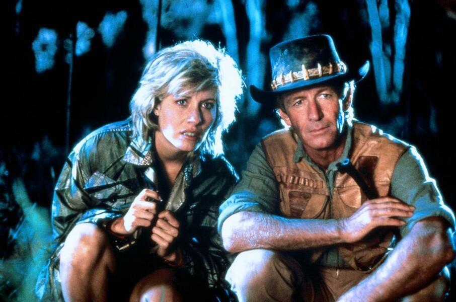 Crocodile Dundee - Ein Krokodil zum Küssen mit Paul Hogan und Linda Kozlowski