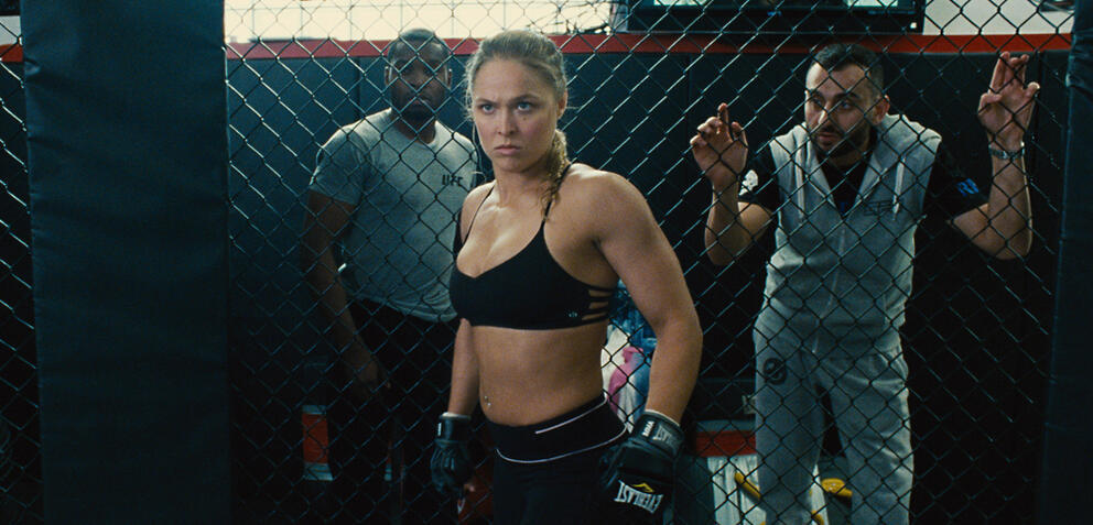 Ronda Rousey im Entourage-Film