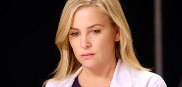 Eine traurige Arizona in Grey's Anatomy