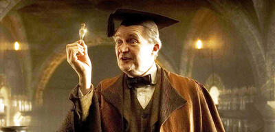 Jim Broadbent in Harry Potter