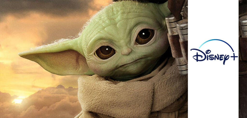 Baby Yoda bei Disney+