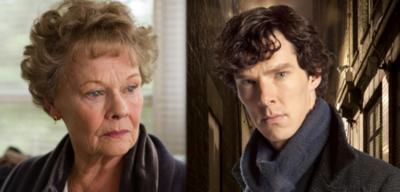 Judi Dench und Benedict Cumberbatch
