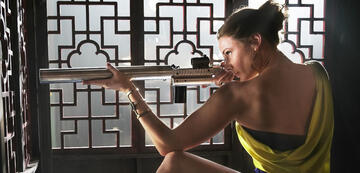 Rebecca Ferguson in Mission: Impossible - Rogue Nation