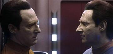 Data und B4 in Star Trek: Nemesis