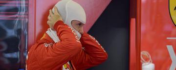 Sebastian Vettel beginnt seine letzte Saison für Ferrari