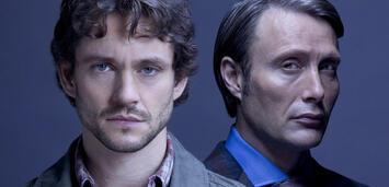 Bild zu:  Will Graham und Dr. Hannibal Lecter