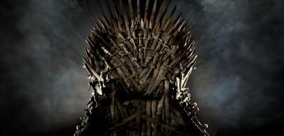 Der Eiserne Thron in Game of Thrones