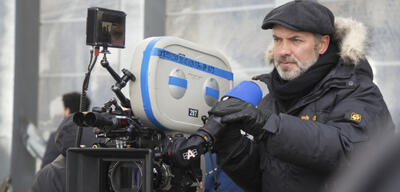 Sam Mendes beim Dreh zu James Bond 007 -Spectre
