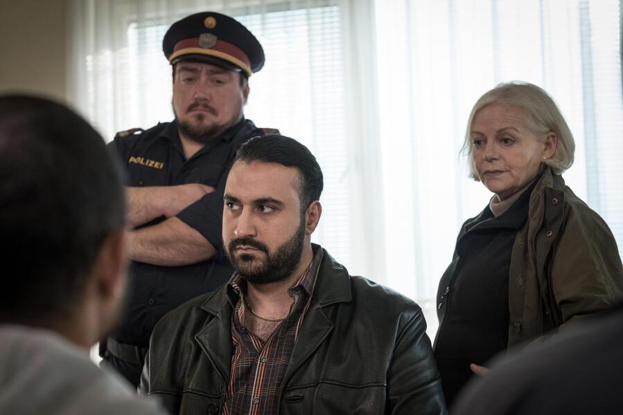 Grenzland mit Brigitte Kren, Christoph F. Krutzler, Sami Nasser und Hassan Akkouch