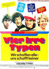 Vier irre Typen - Wir schaffen alle, uns schafft keiner - Poster