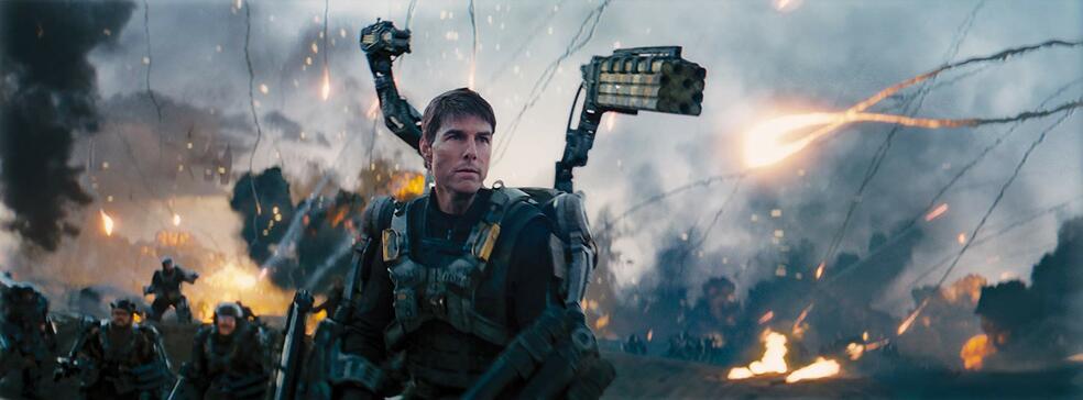 Edge of Tomorrow mit Tom Cruise