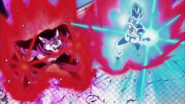 Bergamo vs. Goku