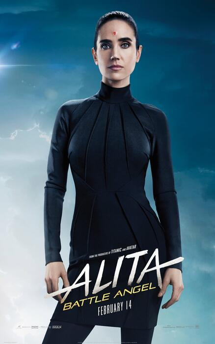 Alita: Battle Angel mit Jennifer Connelly