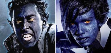 X-Men: Nightcrawler alt und jung