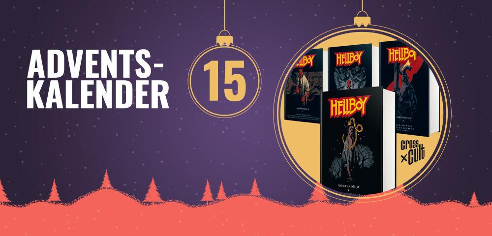 Adventskalender: Gewinnt die Hellboy-Comics in Türchen 15