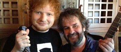 Peter Jackson & Ed Sheeran