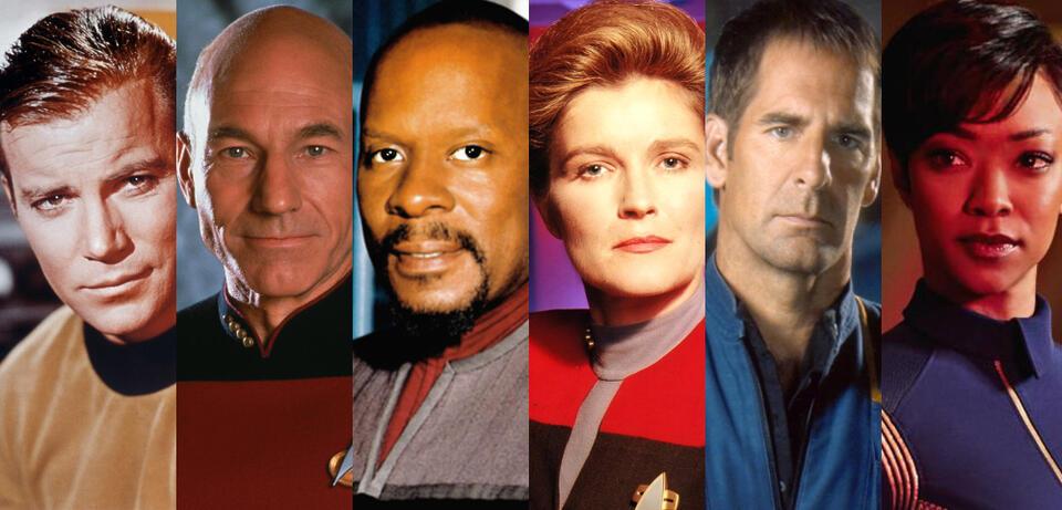 Star Trek - Die Hauptdarsteller der Serien